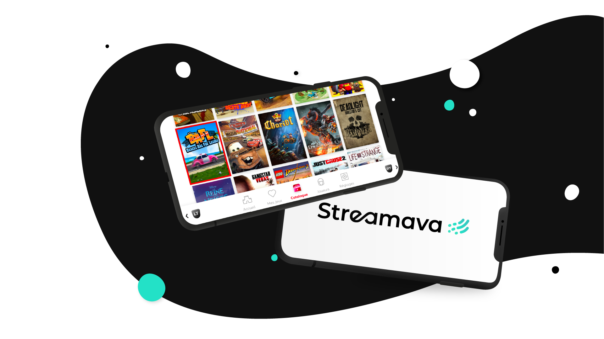 Streamava Mobile - News home